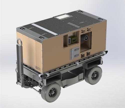 Compact Aircraft Support Cart (CASC)