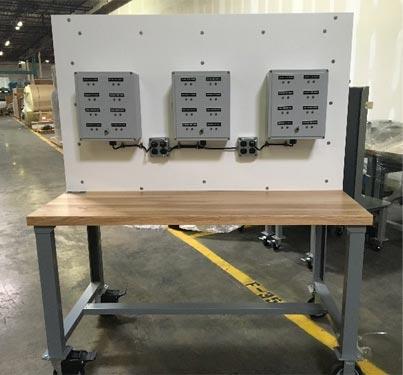 Test Equipment Measurement Panel